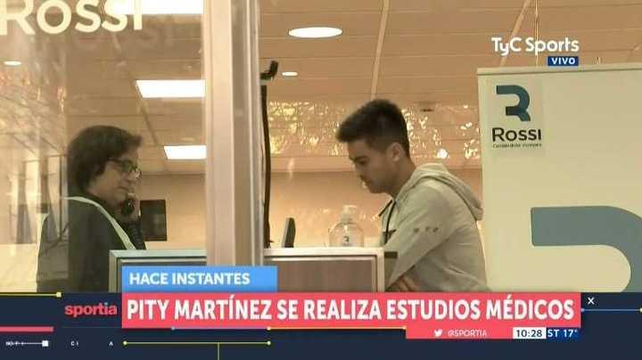 El Pity Martínez se realizó estudios