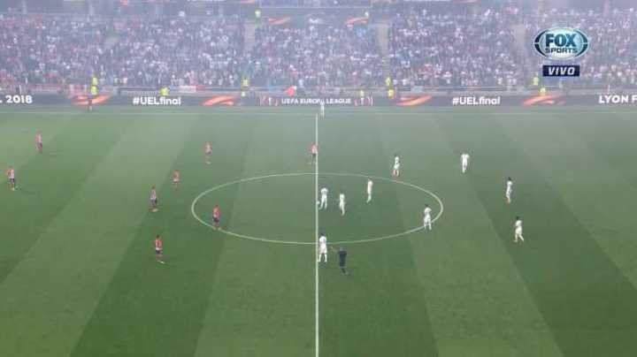 La rara forma del Olympique de arrancar el partido