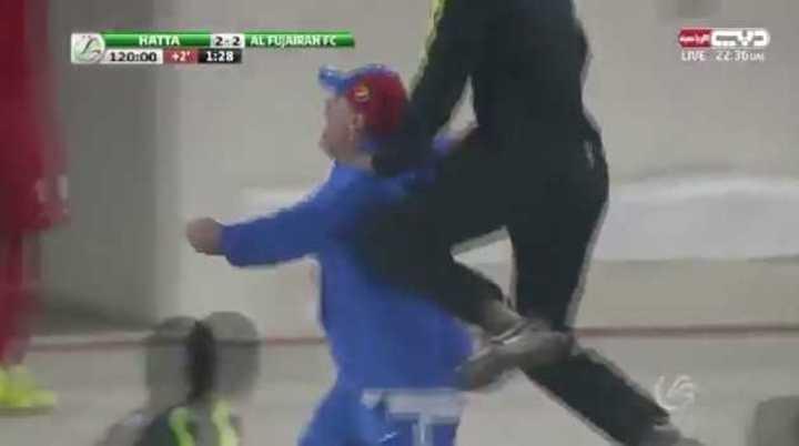 Mirá el festejo del Diego con el gol de su equipo en el último minuto