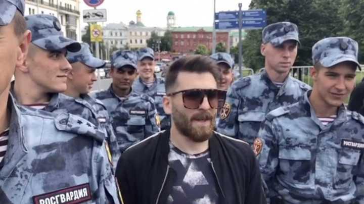 El falso Messi de paseo por Moscú