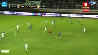 Gol del Dinamo Brest