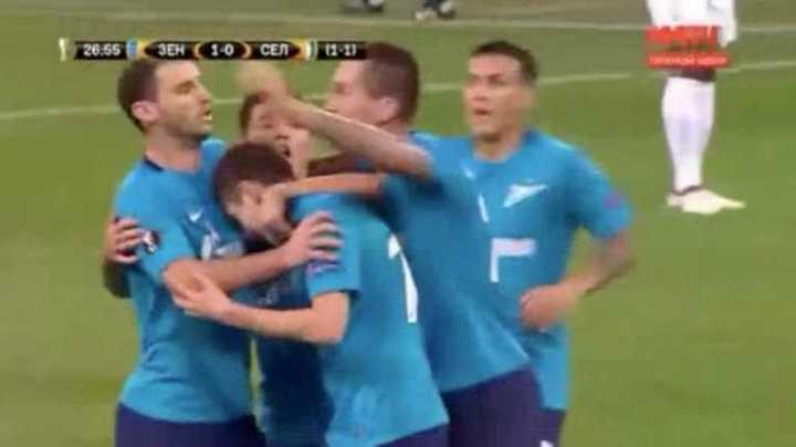 Golazo para el segundo del Zenit