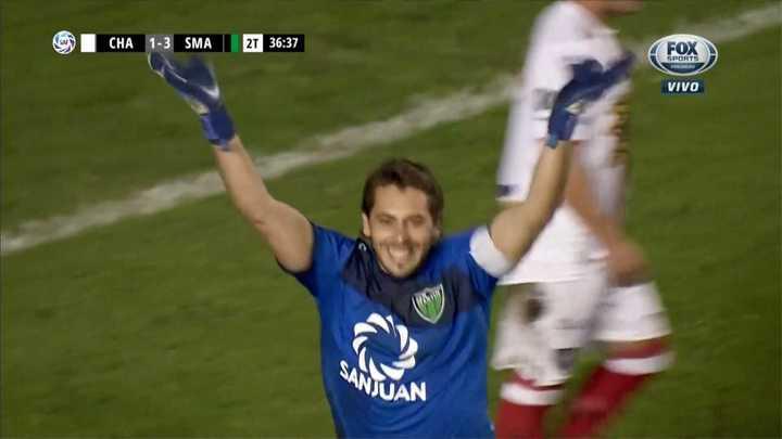 Penal, amarilla y otro gol para San Martín de San Juan
