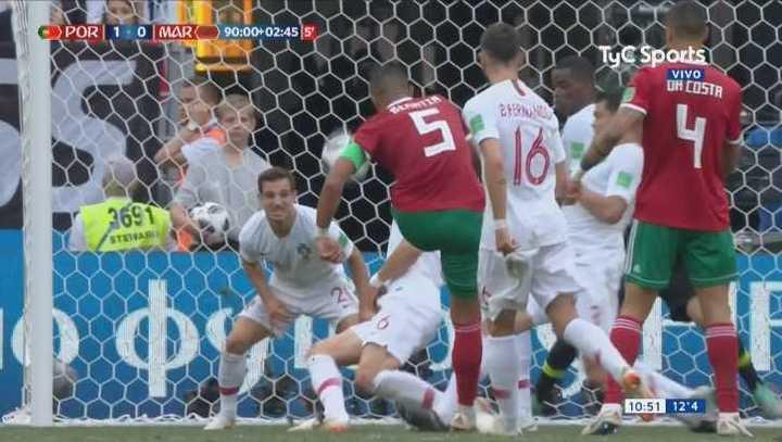¡Marruecos se perdió el empate en la última!