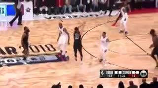 Las mejores jugadas del Juego de las Estrellas de la NBA 2018 (fuente NBA)