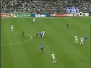 El triunfo de Francia ante Croacia en el Mundial de 1998