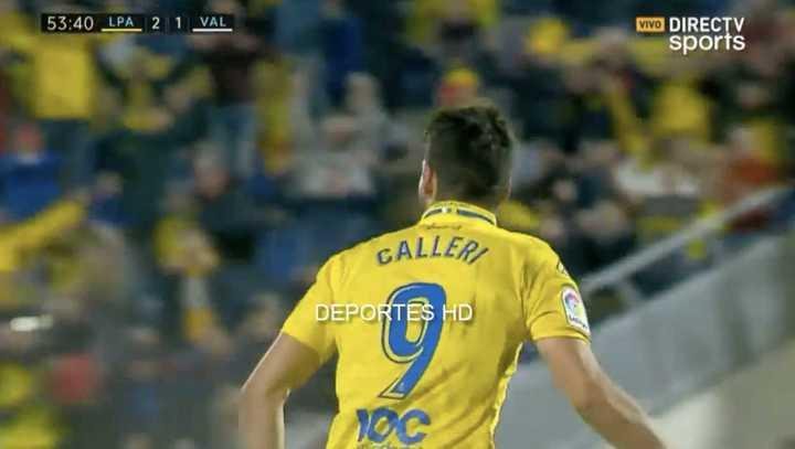 Calleri metió un gol y asistencia de pecho
