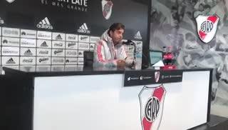 Gallardo habló de la Copa Argentina