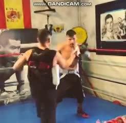 Así se entrena Maravilla Martínez