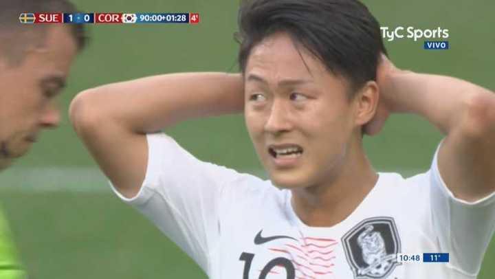 Corea estuvo cerca sobre el final