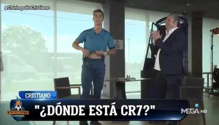 ¿Dónde está CR7?