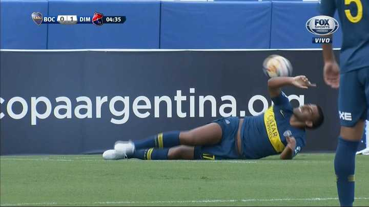 ¿Fue penal a Wanchope?
