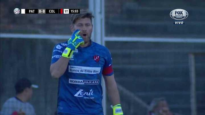 Bértoli le ahogó el grito de gol de Colón
