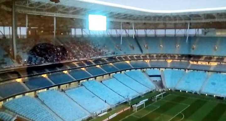 Así está el estadio