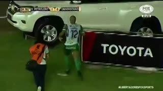 ¿El mejor festejo de la Libertadores?