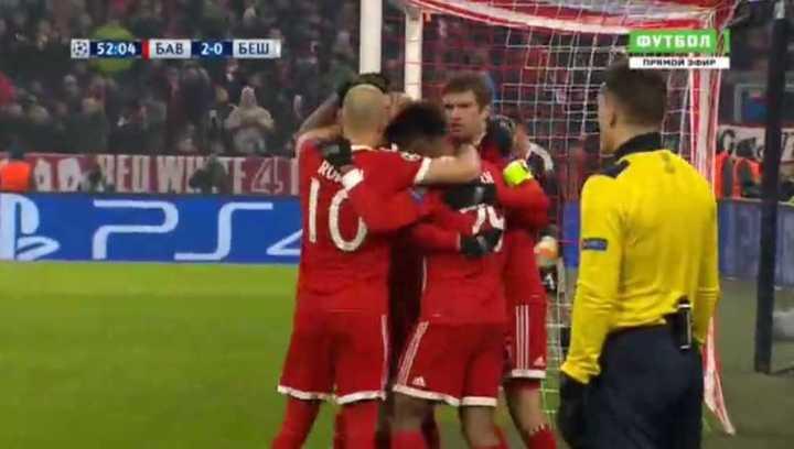 Coman puso el 2 a 0 del Bayern