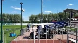 A Sampaoli no le arrancó el carrito