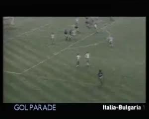 Primer gol del Mundial 86: Altobelli para Italia