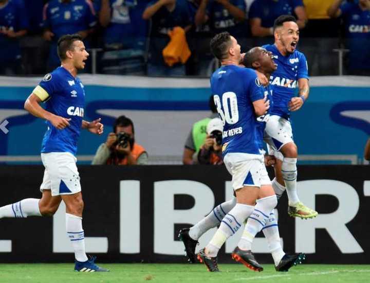 Los siete goles de Cruzeiro