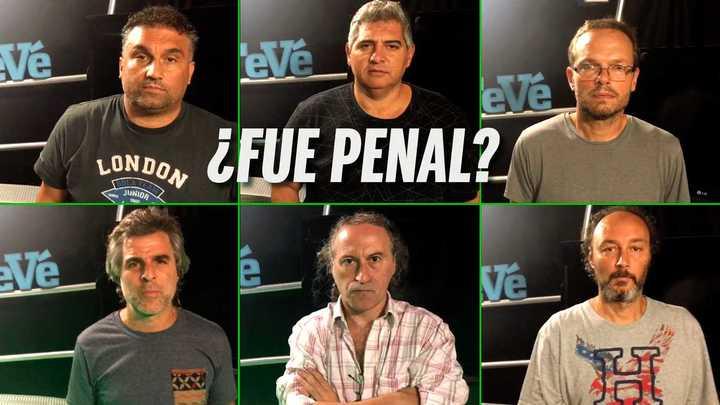 Debate Olé: ¿fue penal?