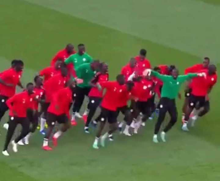 Así se entrena Senegal