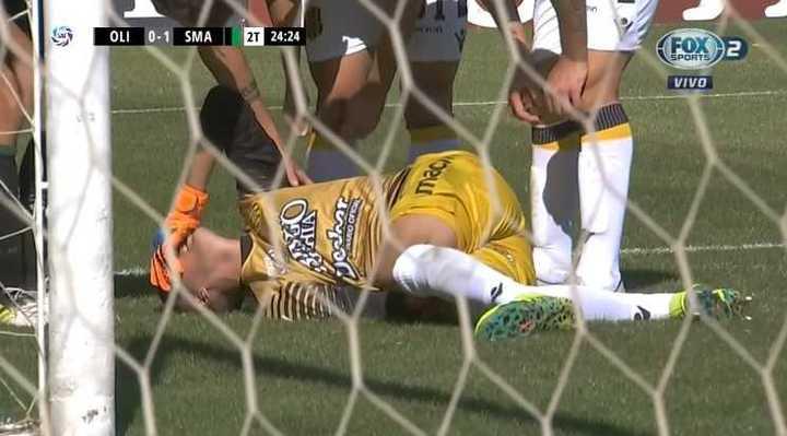 Se lesionó Guido Villar