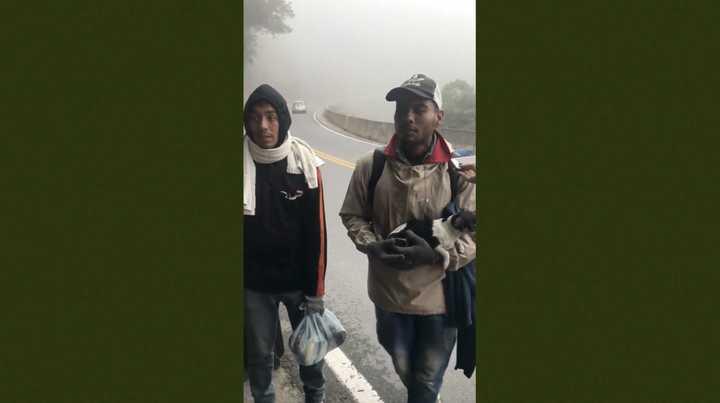 Caminando desde Venezuela a Santa Fe
