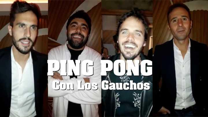Ping pong con Los Gauchos
