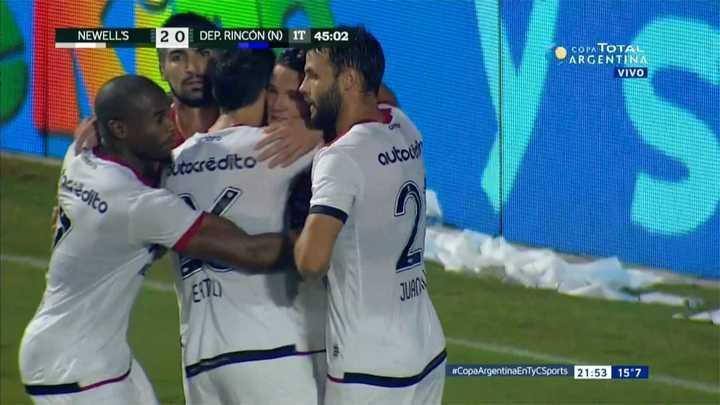 Rodríguez marcó el segundo