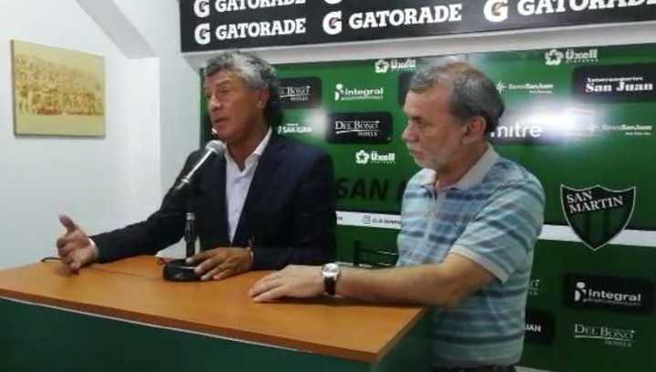 Coyette será el nuevo técnico de San Martín ante Unión