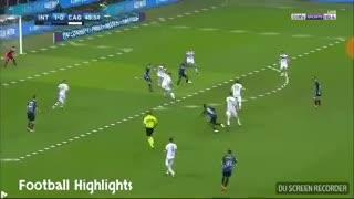 El gol de Icardi frente a Cagliari