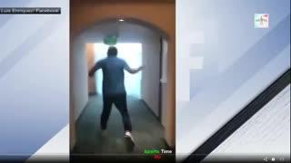 El escape de los jugadores de Puebla