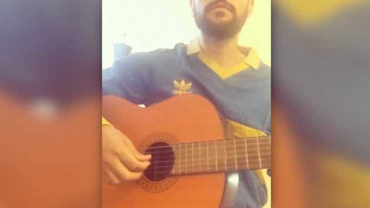 Un hincha de Boca adaptó la canción Bella Ciao, de La Casa de Papel, para cargar a River