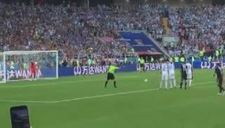 El penal de Messi desde adentro