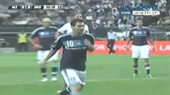 Messi se siente