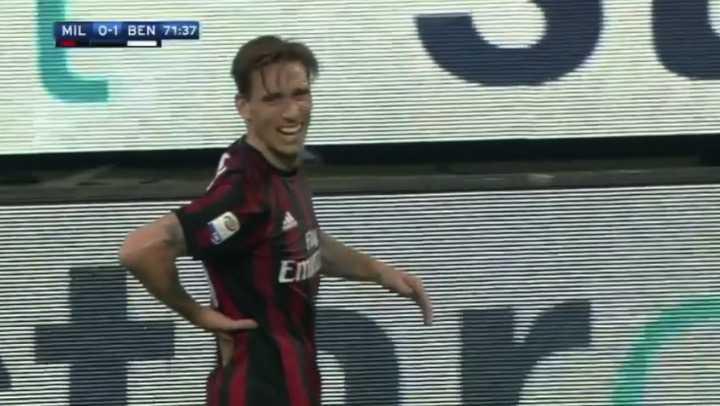 Biglia salió lesionado en Milan