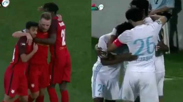 Los goles Al Fujairah 1 - Bani Yas 1