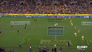 Los tries de los All Blacks