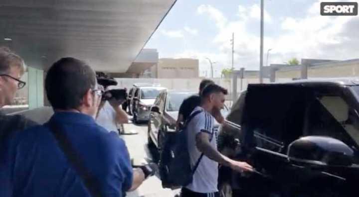 La llegada de Lionel Messi a Barcelona