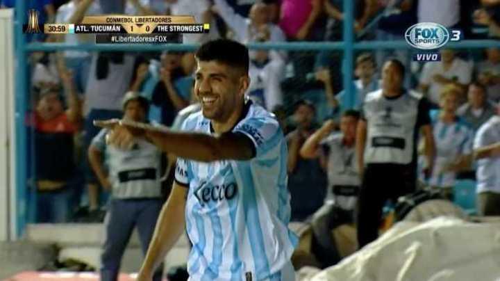 Llegó el gol de la mano de Díaz