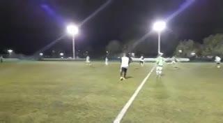 El gol de San Miguel en el 1-1 con Banco Ciudad