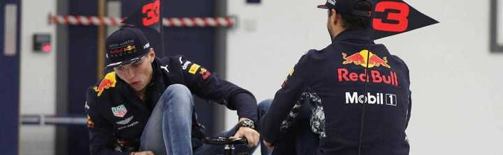 Duelo Ricciardo vs. Verstappen