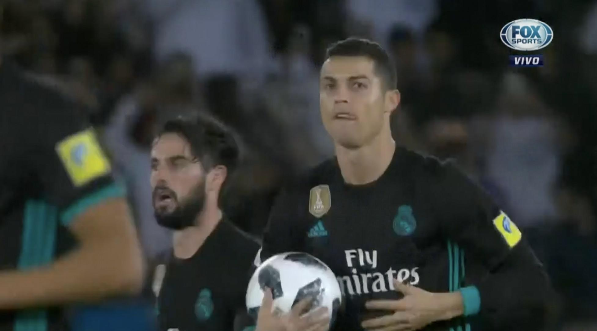 Cristiano empató para el Madrid