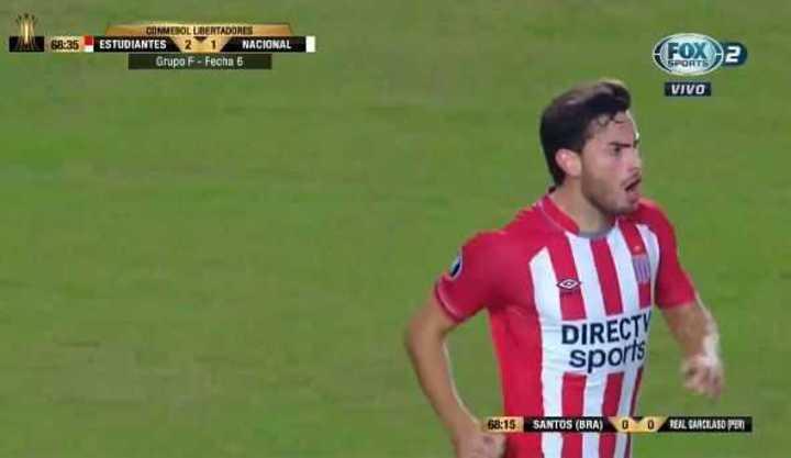 Melano marcó el 2 a 1 para Estudiantes