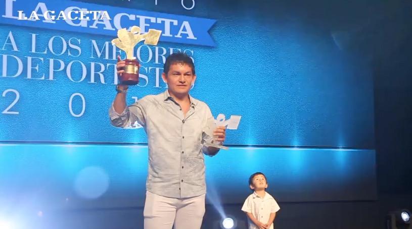El Pulga Rodríguez fue elegido como el mejor deportista tucumano del año