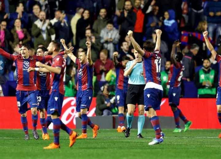 El gol del Levante