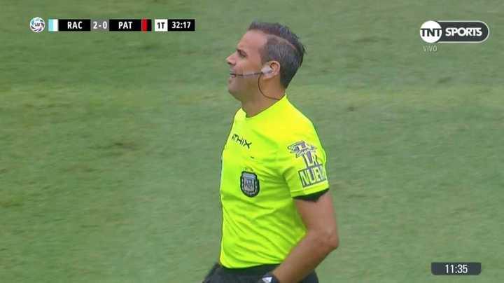 Se cayó el árbitro