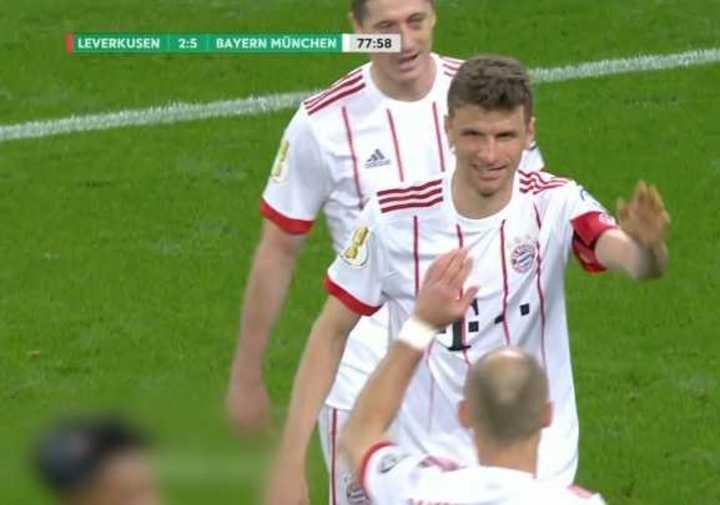 Mirá la goleada del Bayern Munich