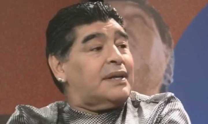 Así le pegó Maradona a Sampaoli