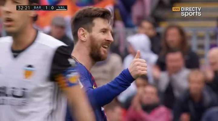 Messi lo tuvo de cabeza